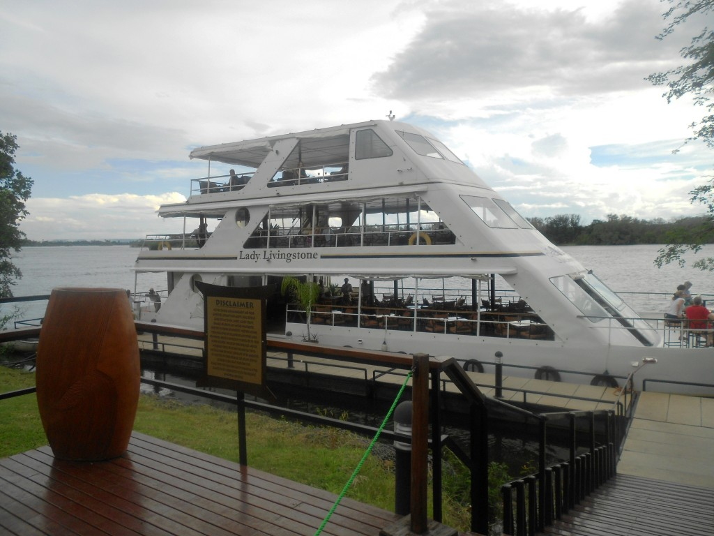 Lady Livingstone cruise on the Zambezi river