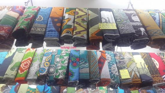African Print fabrics in Malawi