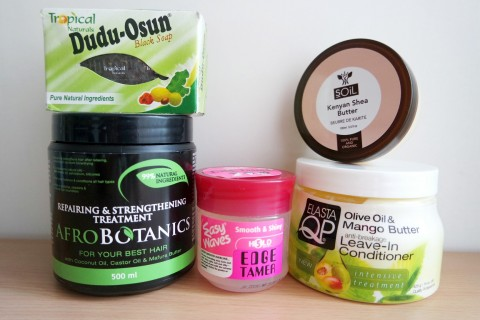 Hair products haul