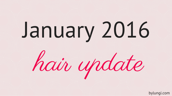 January 2016 hair update natural hair