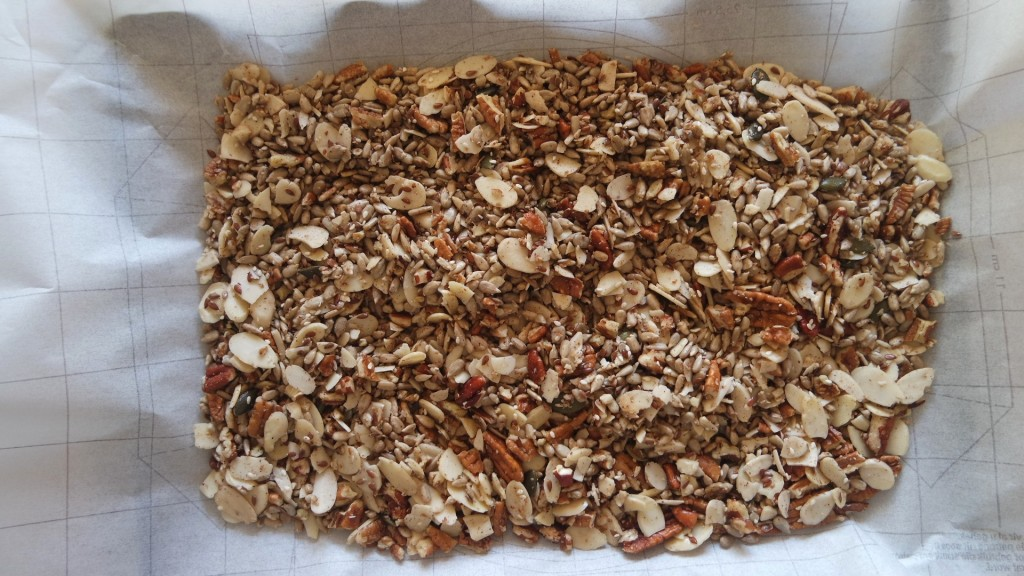 low carb, real food nut granola