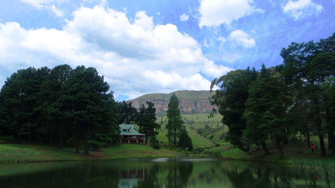 Drakensburg Mountains. Kamberg Valley