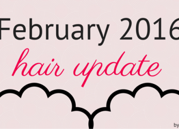 Hair update - February 2016