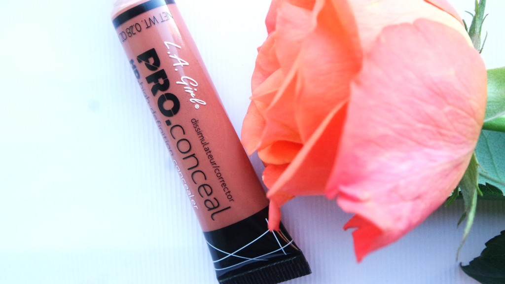 Demo & Review // LA Girl HD Pro Conceal Orange Corrector