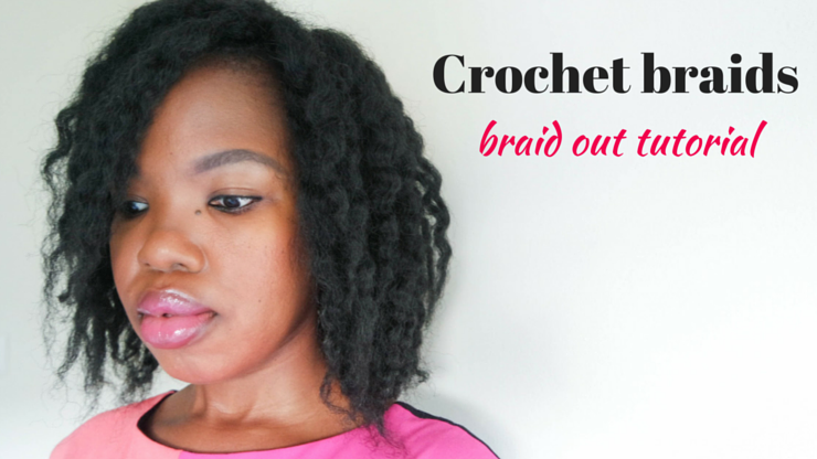 ByLungi - crochet braids styling // braid out tutorial - ByLungi