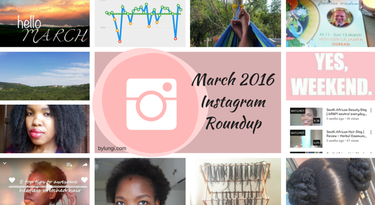 March InstagramRoundup