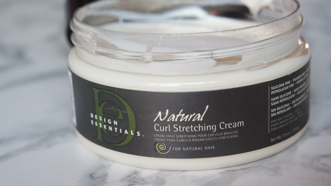 design essentials natural curl stretching cream