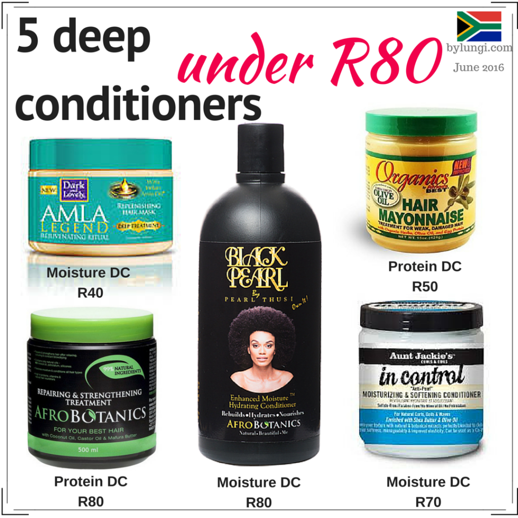 affordable hair care products in South Africa
