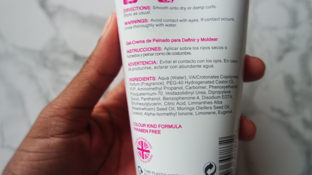 The Curl Company Styling Creme Gel