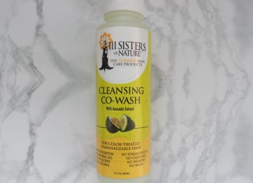 III sisters of nature cleansing co-wash