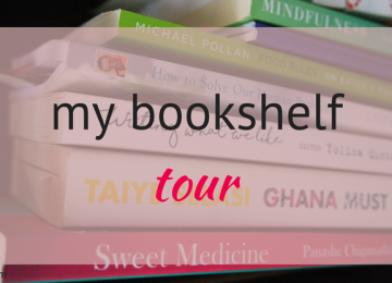 My bookshelf tour