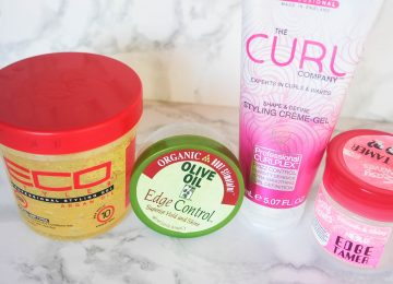 best edge tamers for natural 4c hair