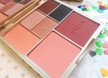 Stila perfect me, perfect hue eye & cheek palette tan/deep