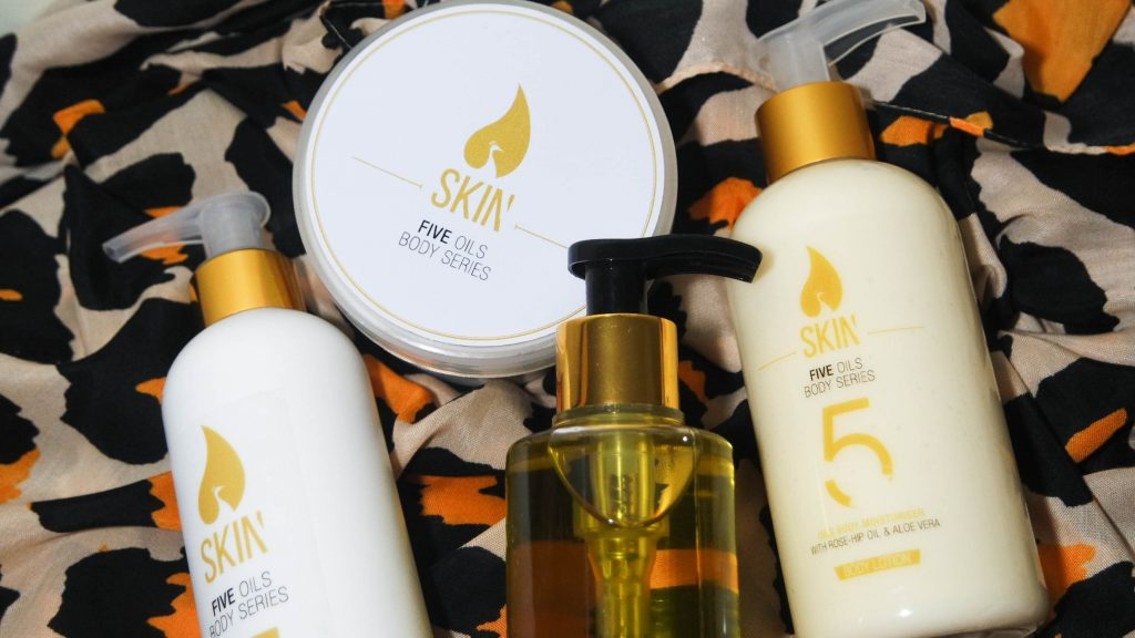 new in // skin by norma – five oils body series