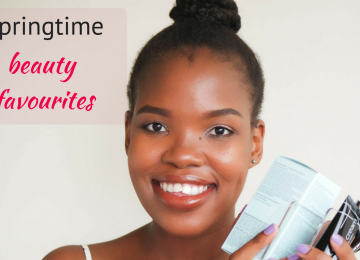 Springtime beauty favourites