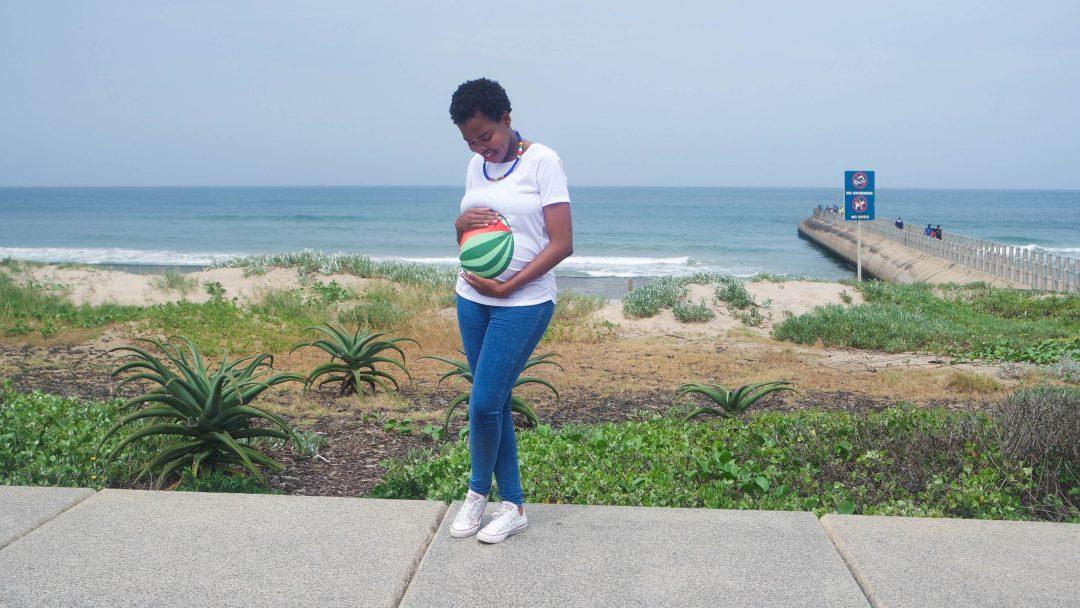 Watermelon pregnancy t-shirt