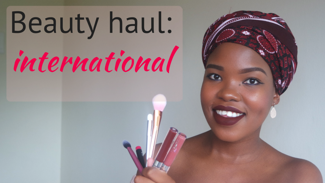 international beauty haul