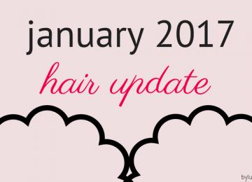 January 2017 hair update