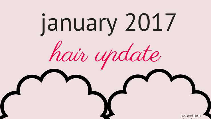 hair update // january 2017 & looking back at 2016 hair goals