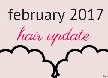 hair update february 2017