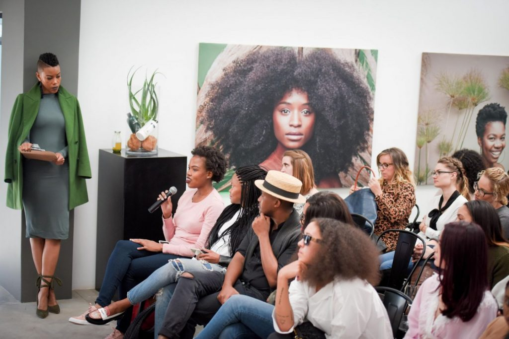 Asking A Question To The Panel (this Picture Is Not Mine). Tresemme  Botanique Media Launch