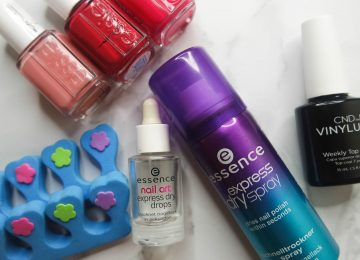 manicure setting sprays