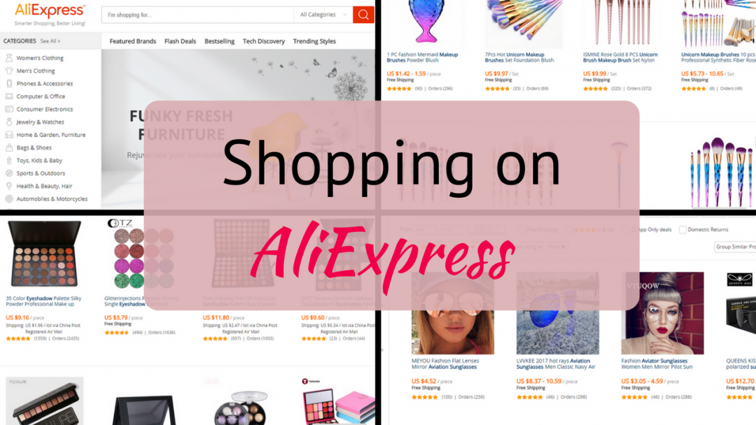 shopping on aliexpress