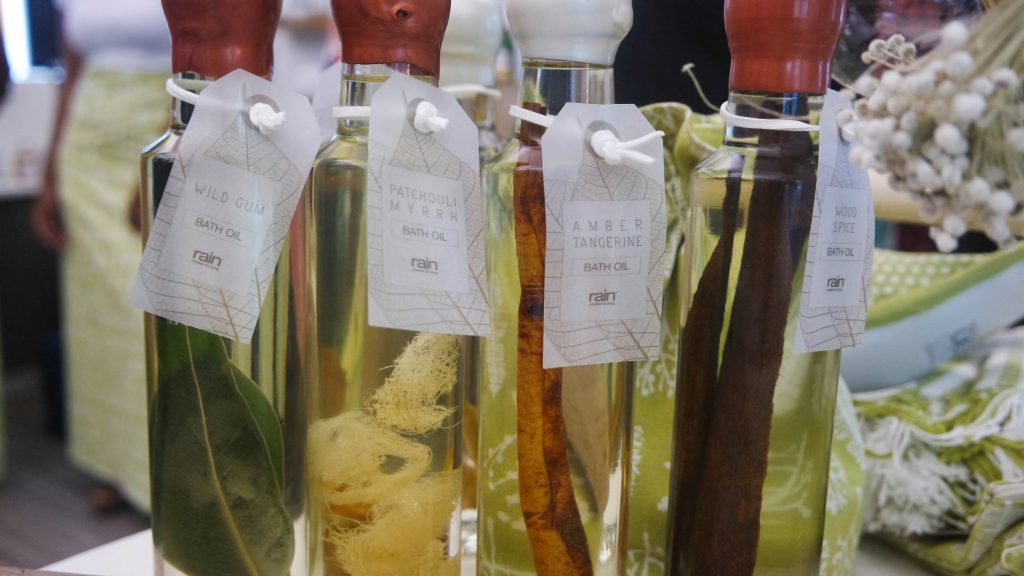 Rain Bath oils