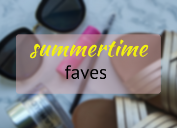 Favourite summertime items