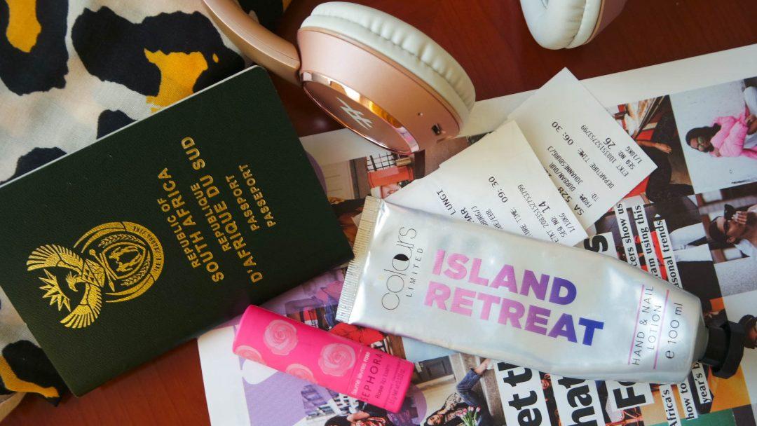 in-flight essentials