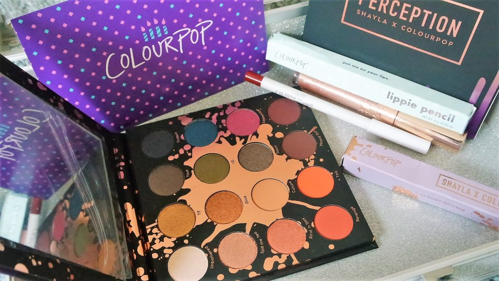 MakeupShayla x Colourpop perception palette