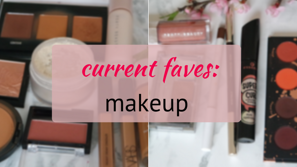 current favourite makeup products