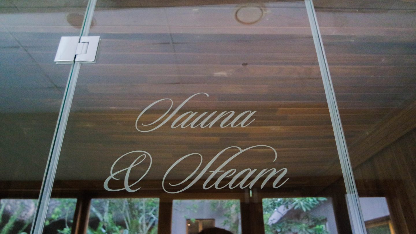 karkloof safari spa sauna ans steam room