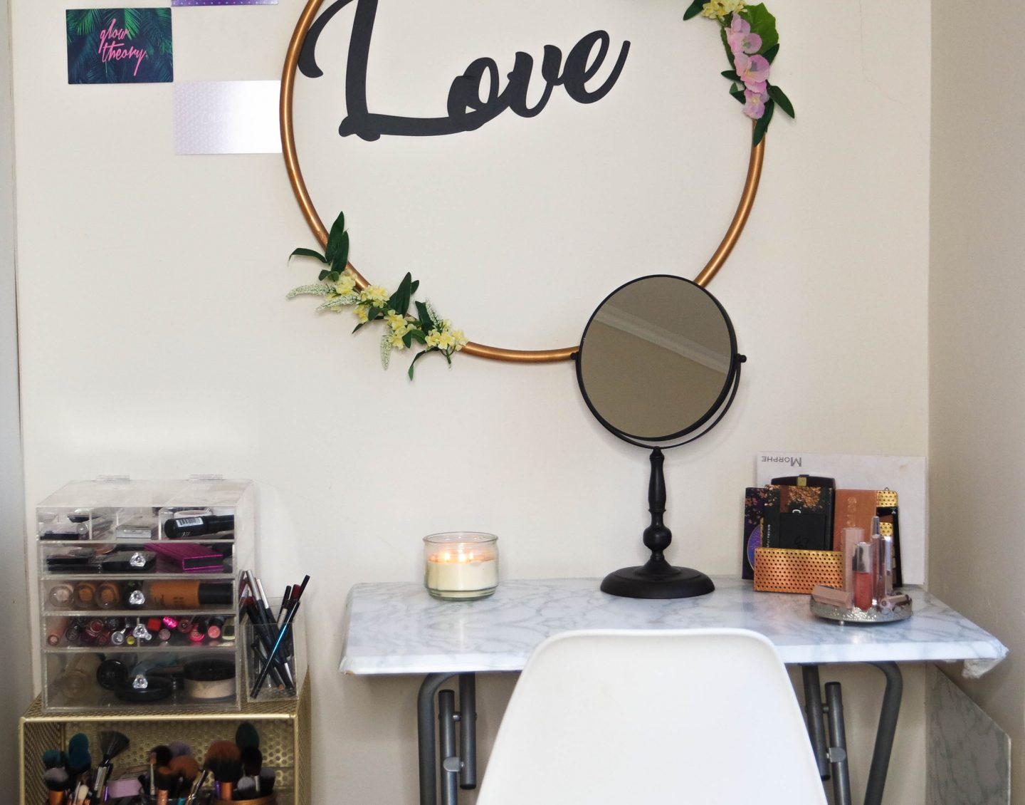 affordable vanity decor
