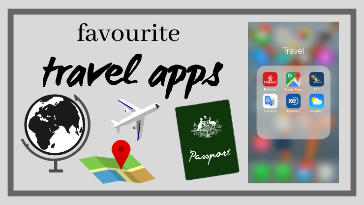 my favourite travel apps