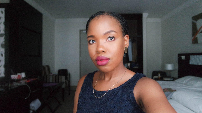 full face of makeup