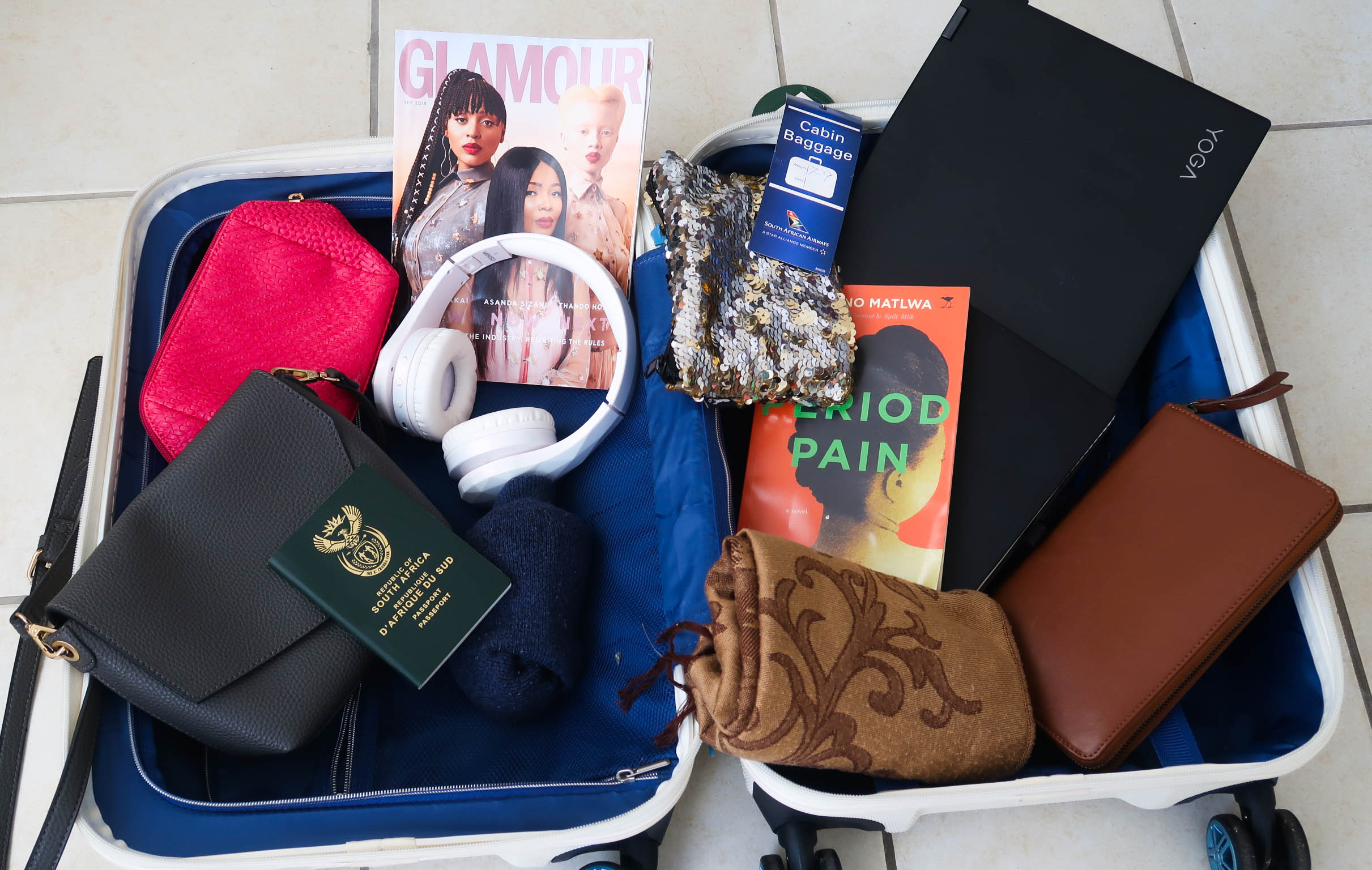 carry on luggage essentials