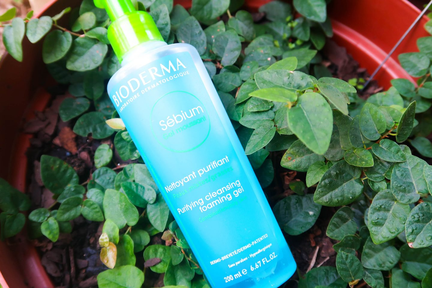 review // bioderma gel moussant: purifying cleansing foaming gel