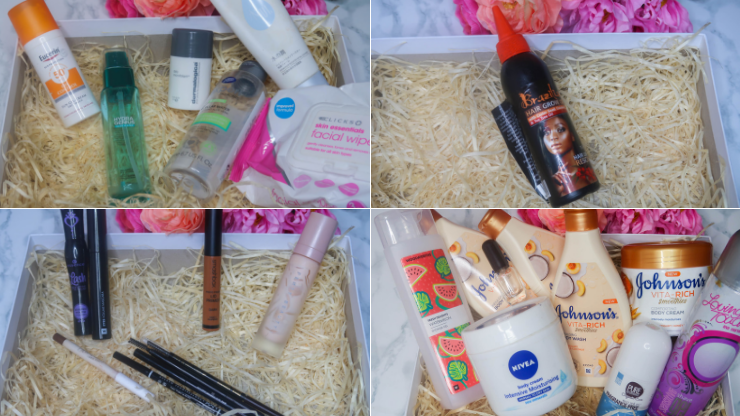 massive collective empties … products i've used up