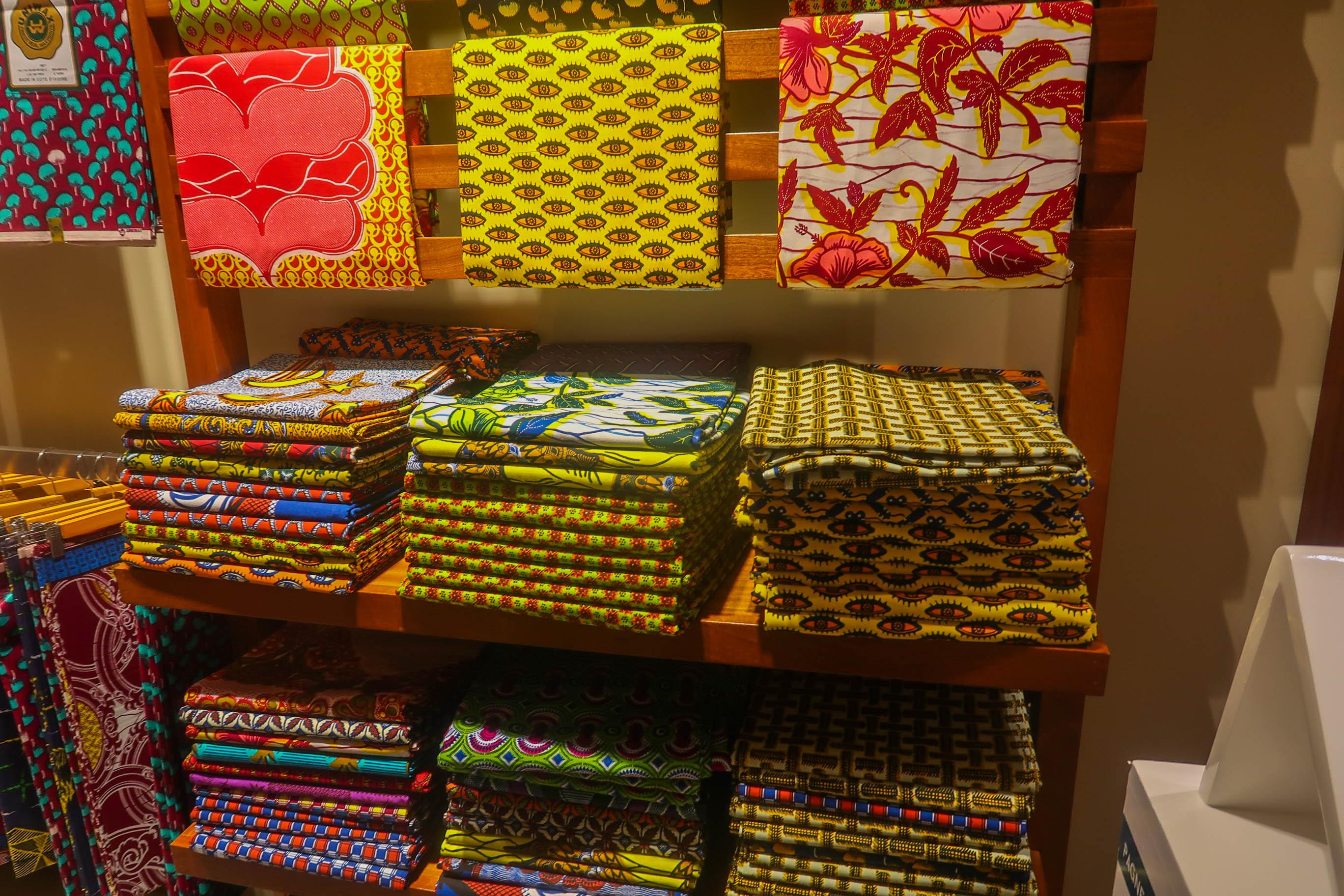 Ankara print fabric Abidjan Ivory Coast