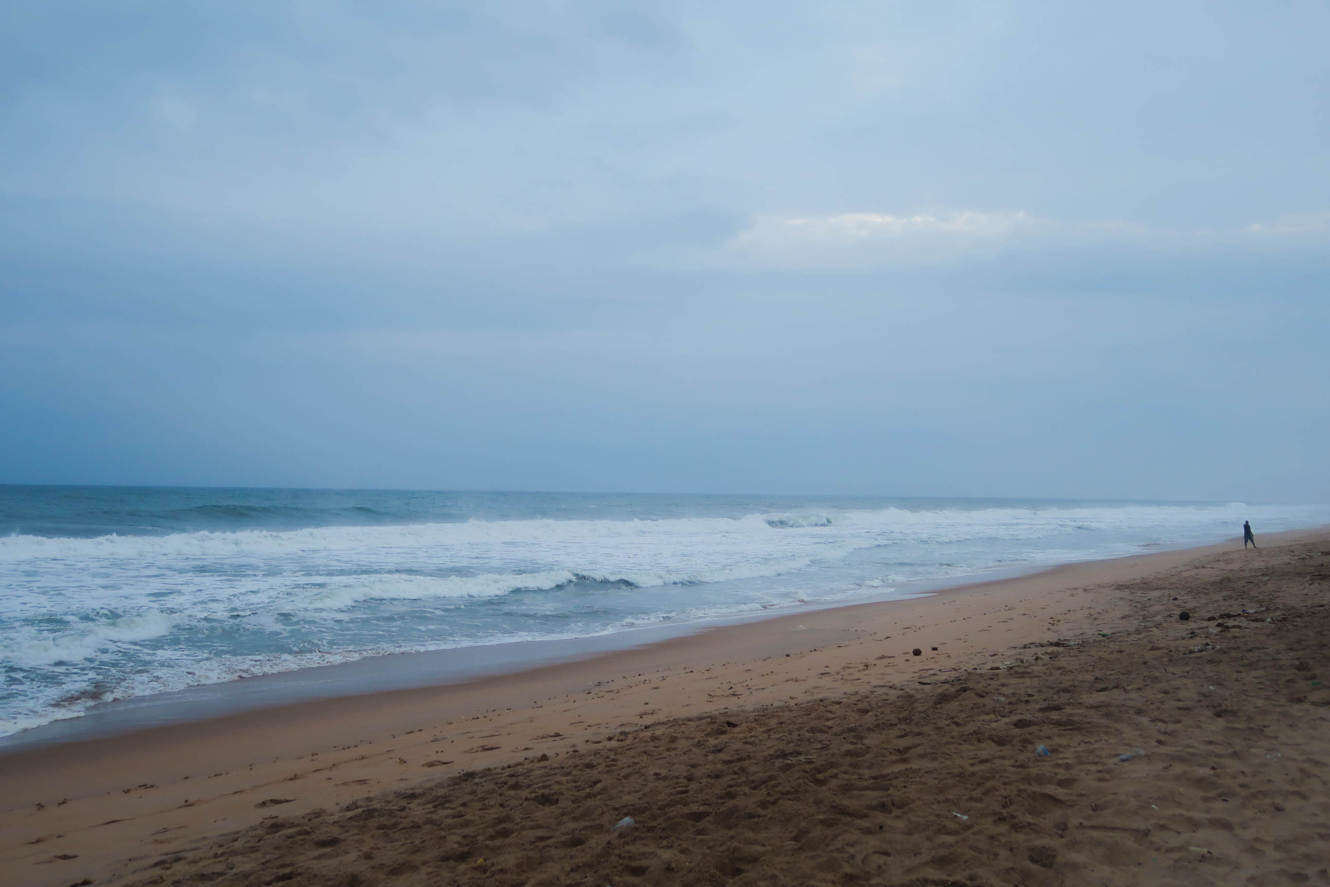 The beach at Grand Bassam