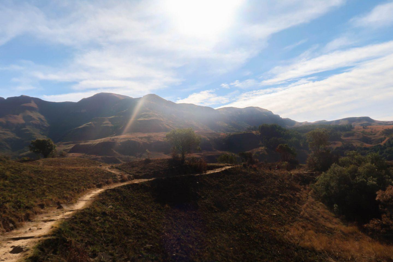 Monks Cowl Sterkspruit Falls Drakensberg
