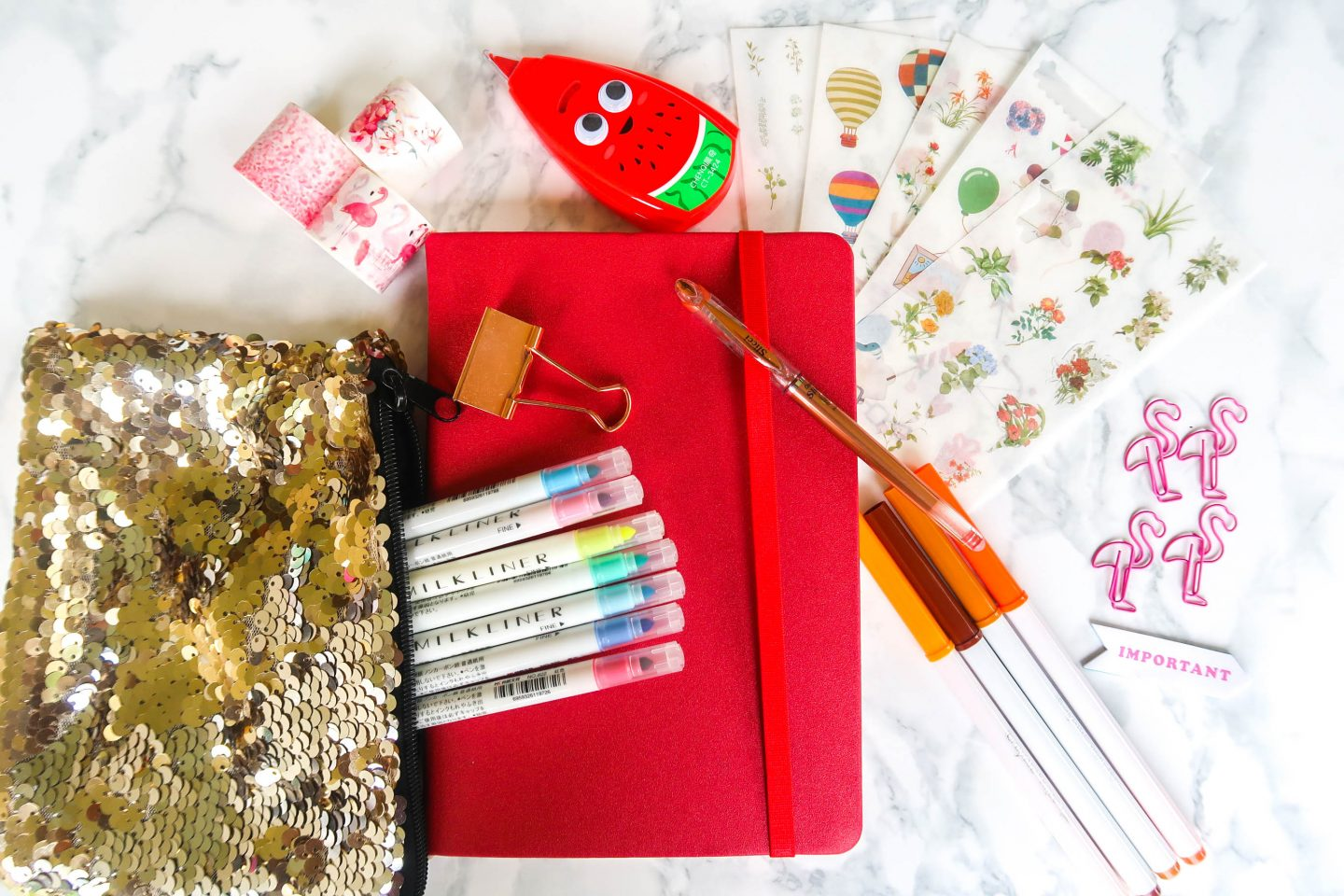 bullet journal supplies – where to buy them in South Africa