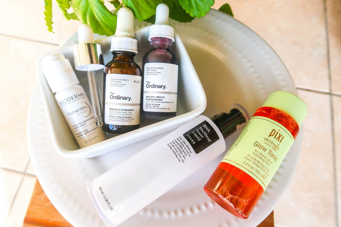 skincare actives that i use in my routine