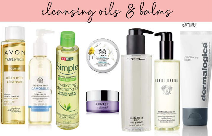 Cleansing balms and oils