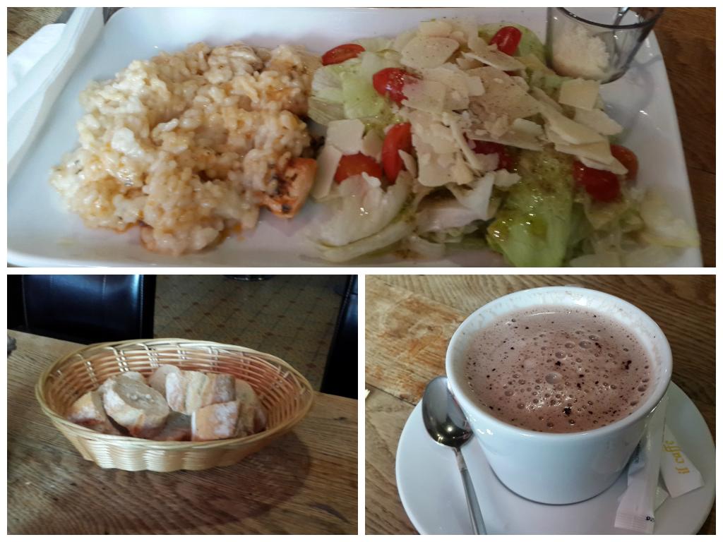 Risotto in Evian, Cosy restaurant