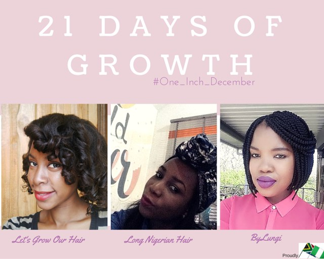 21 days of growth