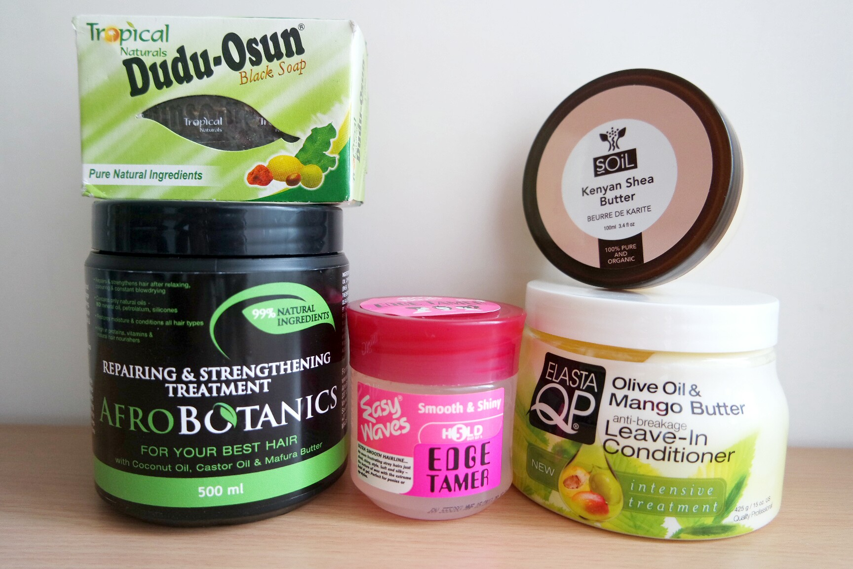 Hair products haul