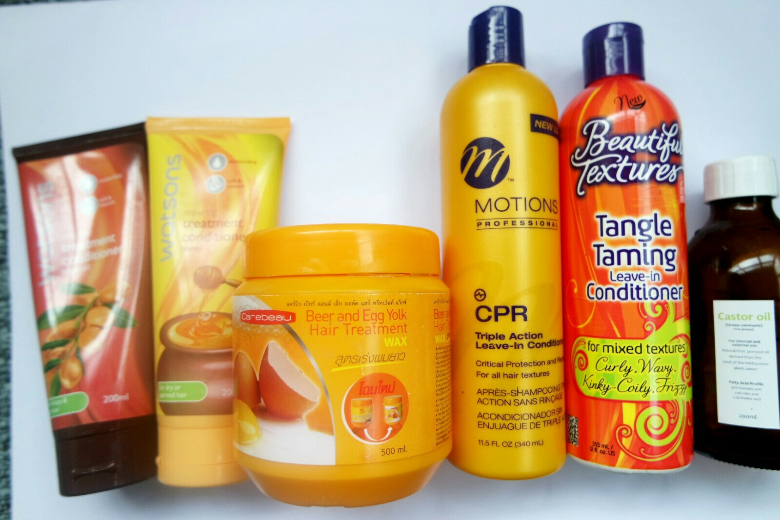 Hair product empties and mini reviews