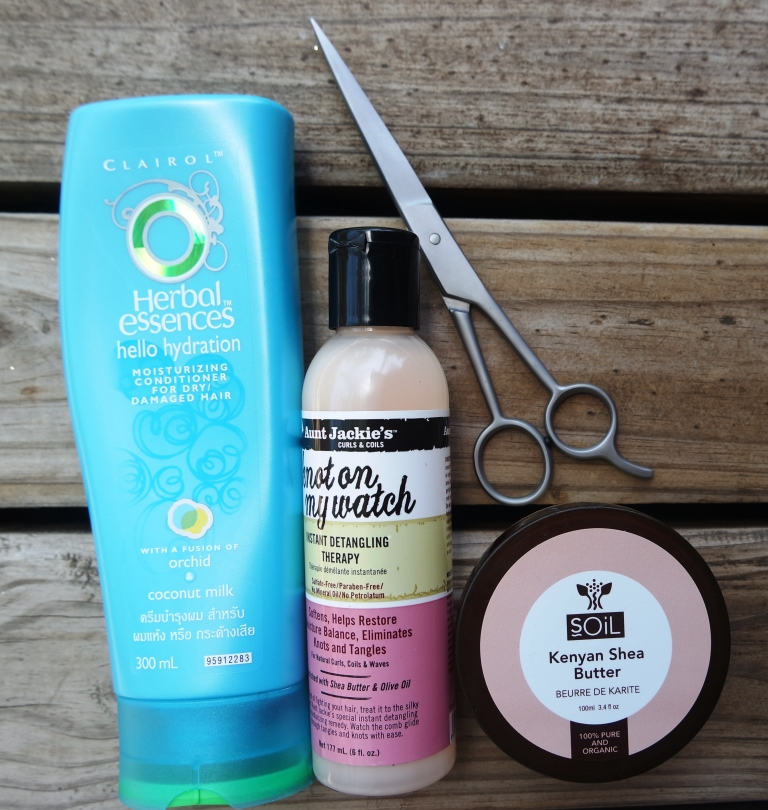 Cowash products for natural 4c hair after big chop